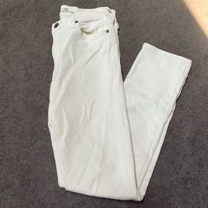 J. Crew Matchstick White Jeans | Size 28